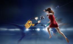 Fusball spielen in Virtual Reality - perfekt für die Euro 2020