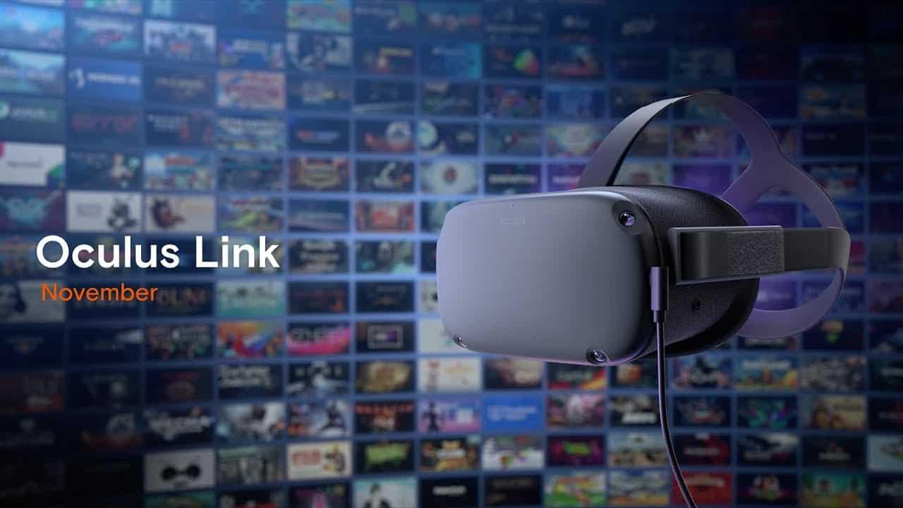 Occulus Link VR Brille