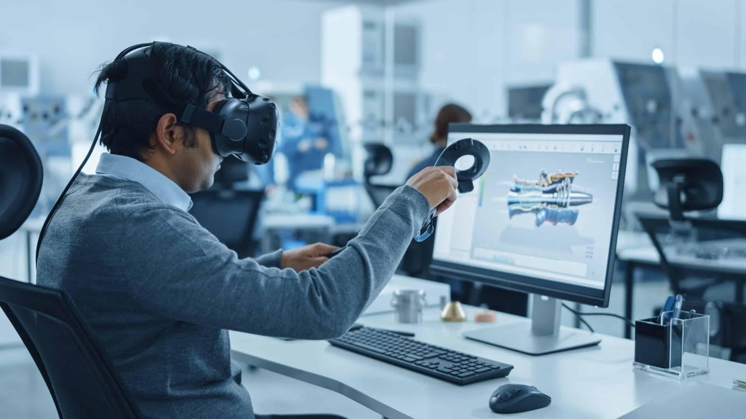 VR am Arbeitsplatz